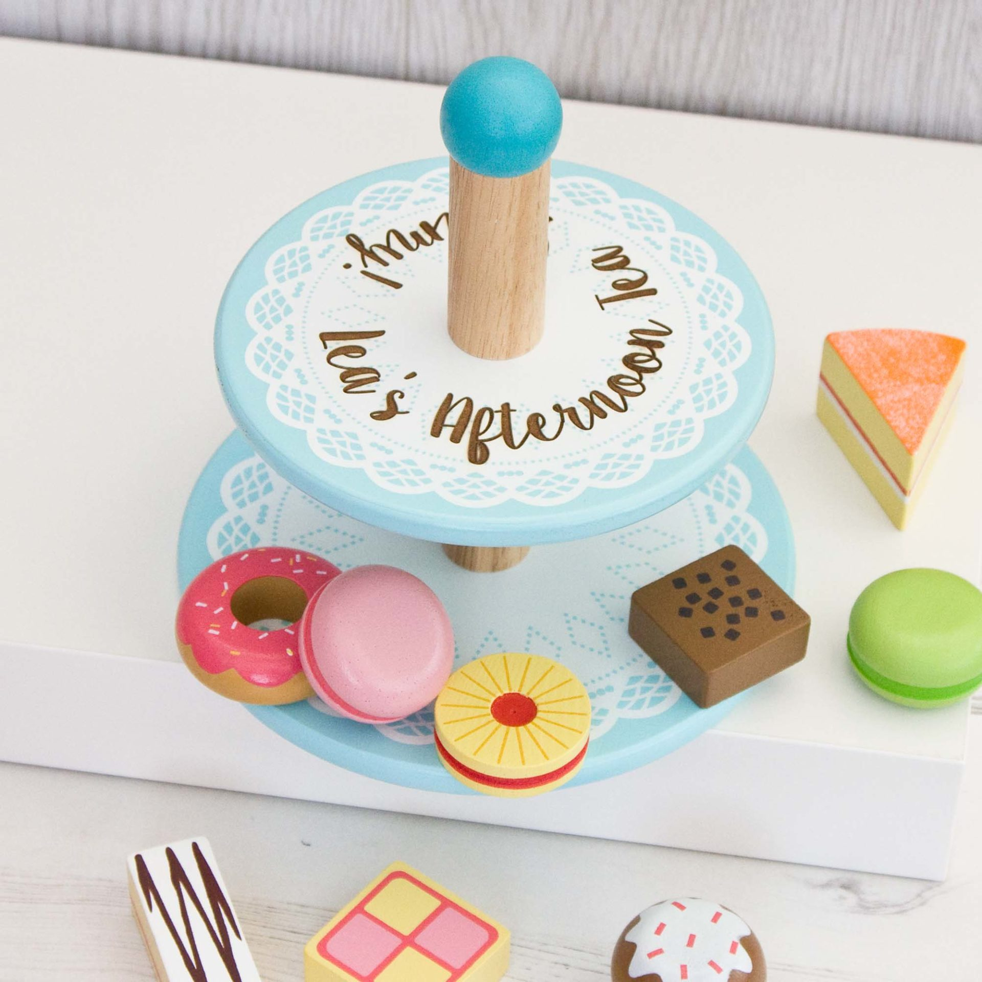 Engraved Cake Stand