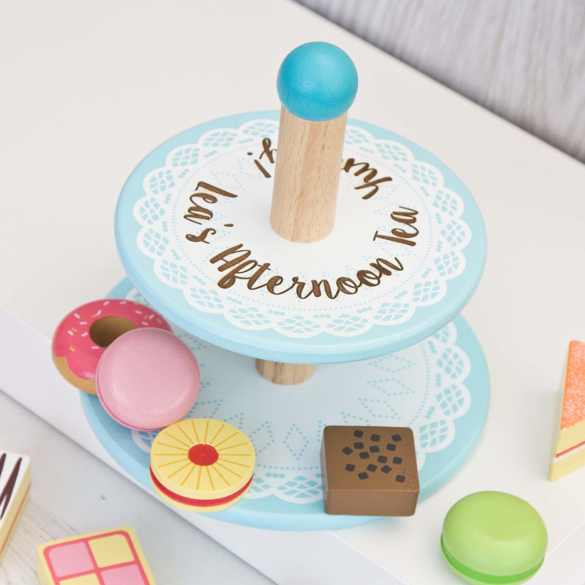 Childrens Cake Stand The Laser Boutique