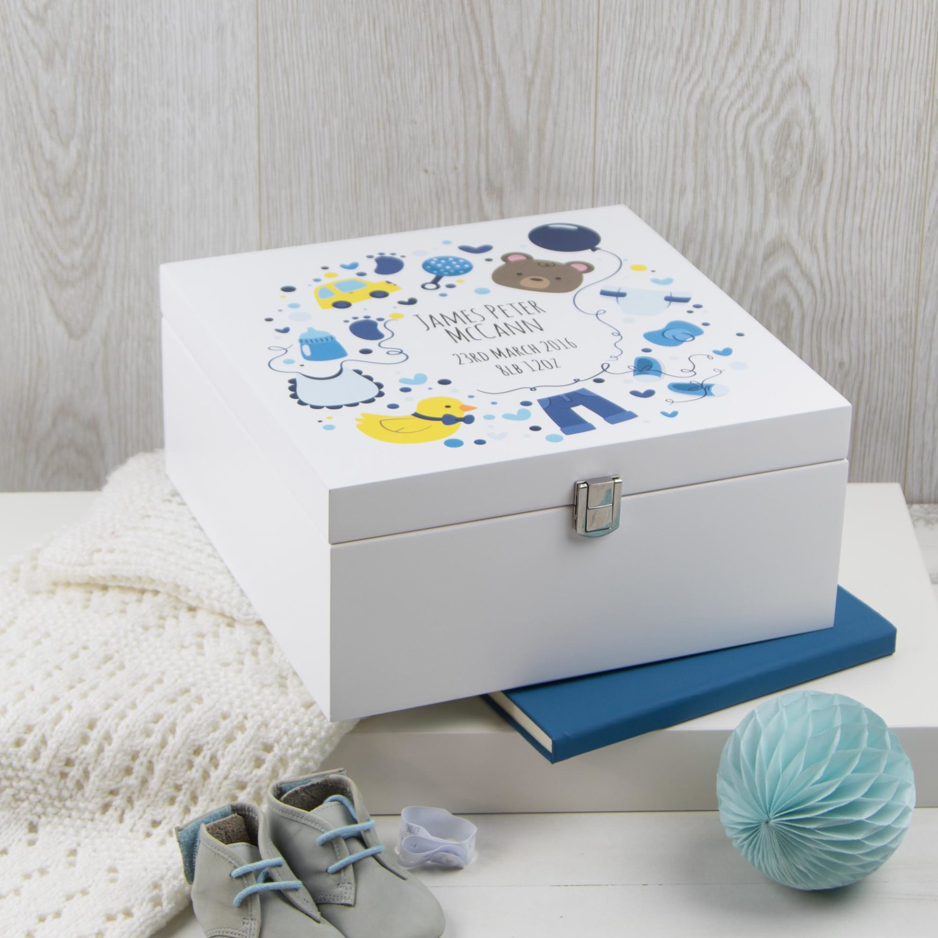 baby box white icons blue the laser boutique. Black Bedroom Furniture Sets. Home Design Ideas